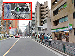 恵比寿4丁目交差点のイメージ